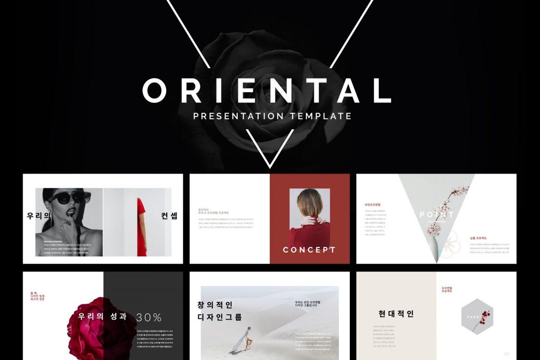 Oriental Presentation Template