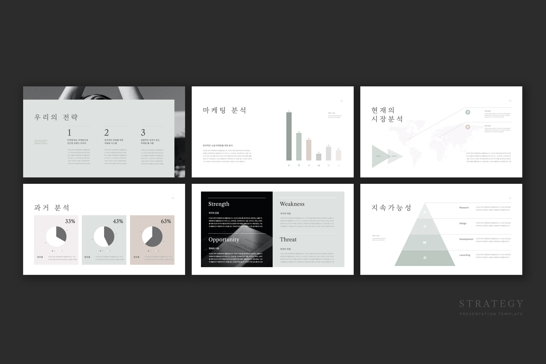 Strategy Presentation Template
