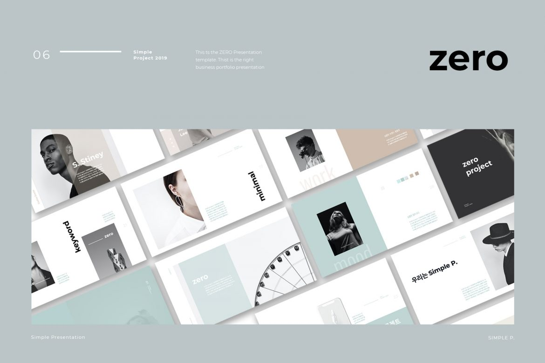 Zero Presentation Template