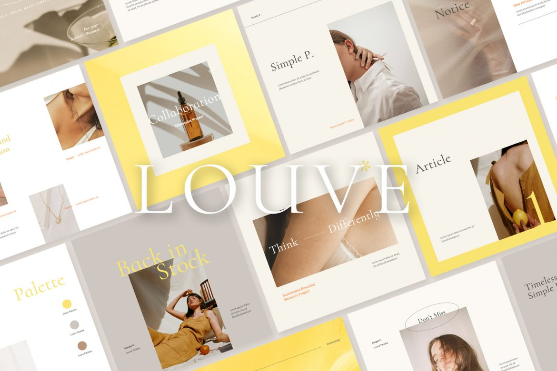 Louve Instagram Palette Pack