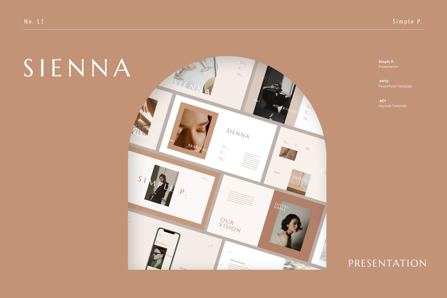 Sienna Presentation Template