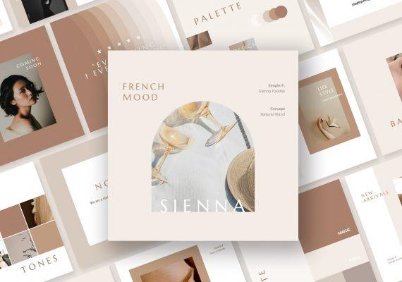 Sienna Palette Pack